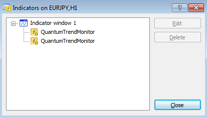 Remove two trend monitors