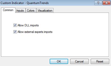 Trends - inputs